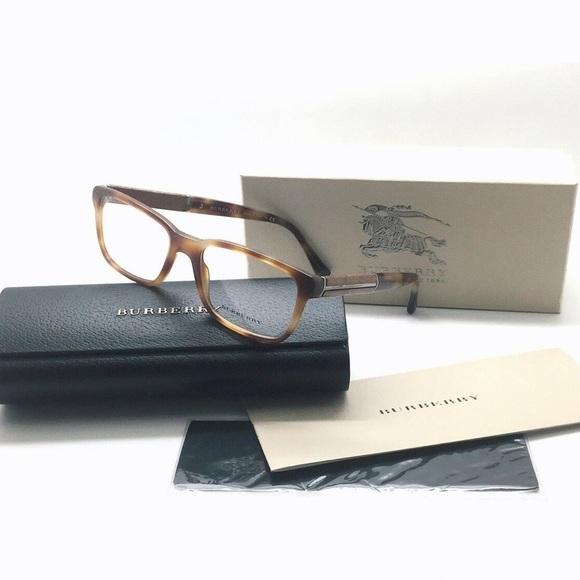 Burberry Brown Tortoise Glasses Frame